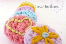 crochet tutorials buttons
