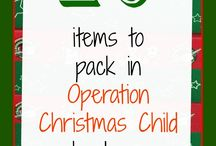 Christmas Boxes / Filling boxes for children