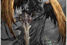 Tod mit Flügel