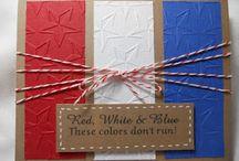 Cards - Patriotic / by Carollee Washington