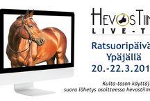 Hevostiimin mainokset