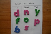 Alphabet Activities / by My Little Bookcase