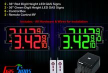 "36"" Gas Price LED Signs"