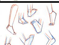 gambe piedi mani e braccia