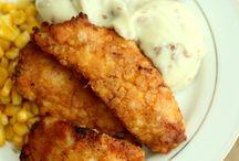 Chicken / Oven fried chicken