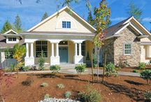 """House Plan of the Week - Vote for your favorite house plan by clicking """"like."""" The house plan with the most likes will be featured in Her Dream Home Magazine.  / Vote for your favorite house plan from Direct from the Designers House Plans by clicking """"like.""""  / by DFD House Plans"""