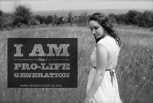 I AM the PRO-LIFE GENERATION / It's not about politics, money, or even religion. Bottom line: killing an innocent, unborn baby human is wrong under ANY circumstance. I am PRO-LIFE because I whole-heartedly believe that a baby-from the moment of conception-is a blessing, not a burden. Take a stand, save a life.
