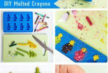 DIY Re-use Crayon