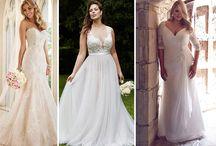 Vestido de Noiva para cada tipo de corpo / Ser a noiva mais linda é o desejo de toda mulher que sonha em casar, mas para isso é preciso respeitar seu tipo de corpo e encontrar o vestido que tenha o caimento perfeito.