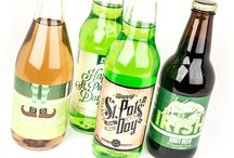 CSL - St. Patricks Day Gallery / Felling a little lucky? Check out our wide selection of St. Patty's Day soda labels.