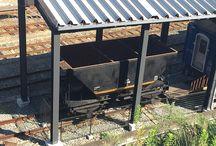 日本国有鉄道 セラ1239号 / 九州の石炭車の歴史は九州鉄道が開業時にドイツから7トン積み15両を輸入してスタートしました。この車両は17トン積みのポッパ車で石炭専用の底開式になっています。