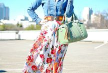 Spring Looks / Outfits for spring and summer