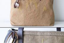 bolsas em tecido