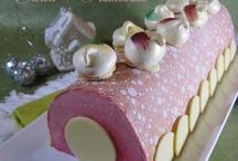 Bûche de Nöel et gâteaux anniversaire