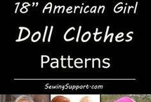 NEEDLEWORK - Doll Clothes