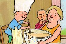 Peuterthema Familie