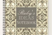 Notebooks & Writing / Beautiful Print On Demand Notebooks and other great gifts for writers. Plus inspirational photos and quotes too. Happy writing to you :)
