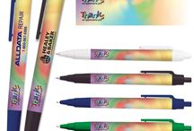 Full Color Digital Wrap Pens / Themed pens with a full color background design to match your event or industry