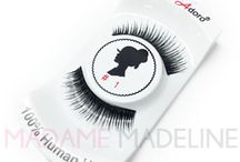 Miss Adoro False Eyelashes / From day to night, a pair of MIss Adoro falsies lashes will complete any look. Made with 100% human hair, #MissAdoroLashes offer comparable styles to many Red Cherry Lashes in a variety of styles.  Shop MIss Adoro False Eyelashes: https://goo.gl/gQtLGk