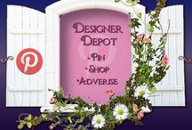 Designer Depot / Welcome to DESIGNER DEPOT! Group board for anyone creating unique items on Zazzle, Redbubble, Society6, CowCow, CustomizedGirl, etc. To join, simply follow this board, & leave a comment on any BlueRose_Design item requesting an invite. Post up to 10 items per day--No nudity--Anything deemed inappropriate will be removed. Variety is key, so show everyone what you have to offer, & have fun! :) Feel free to invite friends!