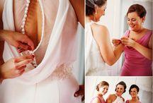 Wedding dress details / Beautifully detailed wedding dresses