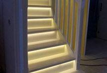Escaliers avec Led