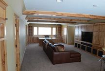 Basement Remodeling / Pictures from completed basement renovation projects handled by Excel Builders