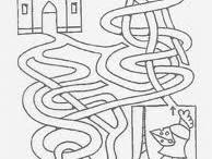 labyrinty, sudoky, grafomotorika