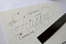 Lettering & Typography / Tips and inspiration in the form of the written word.