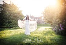 Bride & Groom Wedding Portraits / Bridal Portrait Wedding Photography by Lush Wedding Photography