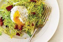 Salades / Eenvoudige slanke salades