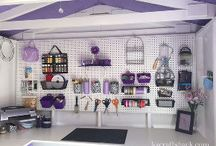 Tool shed craft room