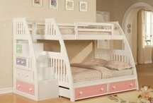 Bunkbeds for girls / by Lori Deppen