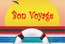 'Bon Voyage' - Inspiration board / The inspiration behind my cruise-themed comedy romance.