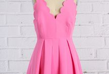 I want a pink dress
