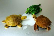 クイリング:3D水生物
