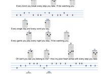 Guitar chords songs