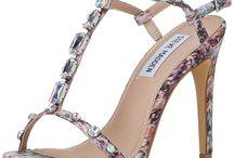 Floral High Heel Sandals