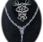 Chain mail necklace  / by Kally Zwolak
