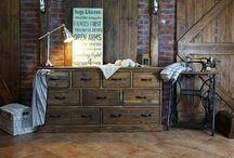 Powrót mebli rustykalnych / Drewniane meble w stylu rustykalnym