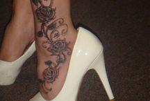 Tatouage pied cheville
