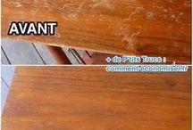 Restaurer des meubles