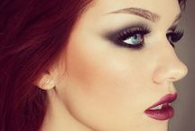 redhair make up