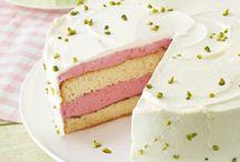 Sommerrezepte / Sommerliche Rezepte für Kuchen, Torten und Desserts.