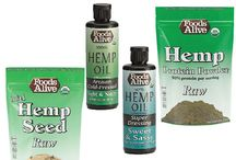 Hemp Foods / Hemp has been used as a food source for thousands of years, and with good reason. Hemp seeds are loaded with heart healthy Omega-3's, Dietary Fiber, essential Amino Acids (Proteins) and lots of other trace vitamins and minerals. In fact, in 1942, the US Government even encouraged its growth and produced Hemp for Victory, (video below) that explained the uses on hemp and encouraged farmers to grow it.
