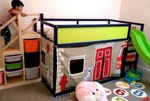 İskandinav çocuk odası