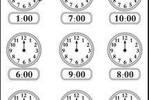 Worksheets time
