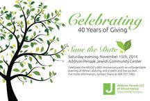APJCC 40th Anniversary Gala- The Giving Tree / Tickets are on sale for the APJCC's fall gala. Dinner & dancing while supporting the APJCC!  This year's theme is the Giving Tree. Tickets online at: www.eventbee.com/v/40yearsofgiving. Purchase tickets by October 12th at the early bird price of $118. After October 12th, it will be: $160. We're looking forward to celebrating with you. For more info contact Diana Schnabel: diana at svjcc.org or 408.357.7402. #JCC #APJCC #Nonprofit #JCCEvents #BayAreaJCC #JCCGala #BayAreaNonprofit #CommunityCenter / by Addison-Penzak JCC