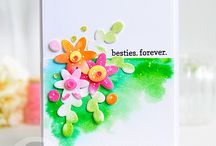 cards I adore:  floral / by Amy Tsuruta