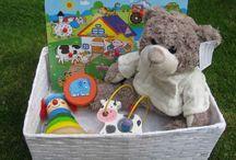 kraamkado's / Complete kraammanden en kado's bij de geboorte van een baby.